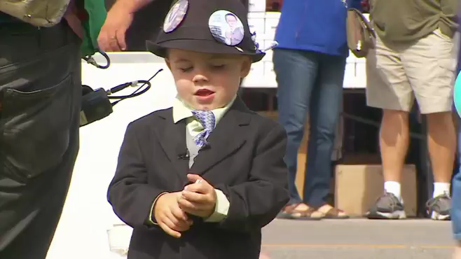 4-year-old mayor is re-elected