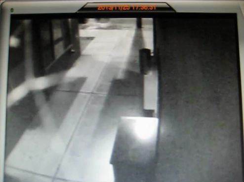 Surveillance video of Metro bus attack