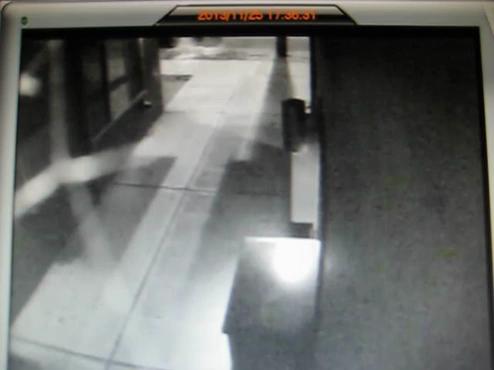 Surveillance video of Metro bus attack